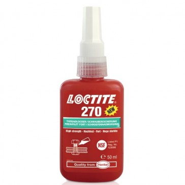 FREINFILET LOCTITE 270 FORT ANAERO.MET. FL.50ML