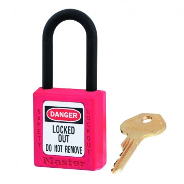 CADENAS CONSIGNE XENOY ISOLE CLE DIFF ANSE38 ROUGE