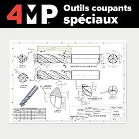 Outils coupants spéciaux 4MP