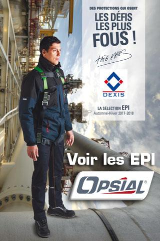 Les EPI Opsial hiver 2018 Dexis