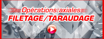 Sélection filetage/taraudage