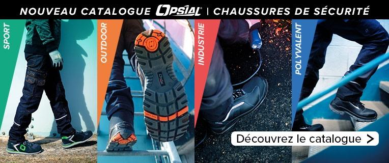 Nouveau catalogue Opsial   Chaussures de sécurité