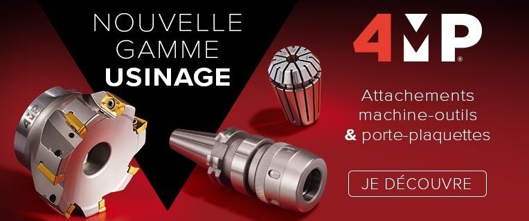 4MP : Nouvelle gamme USINAGE   Attachements machine-outils & porte-plaquettes