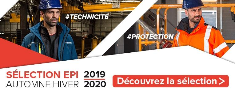 Sélection EPI Automne-Hiver 2019-2020